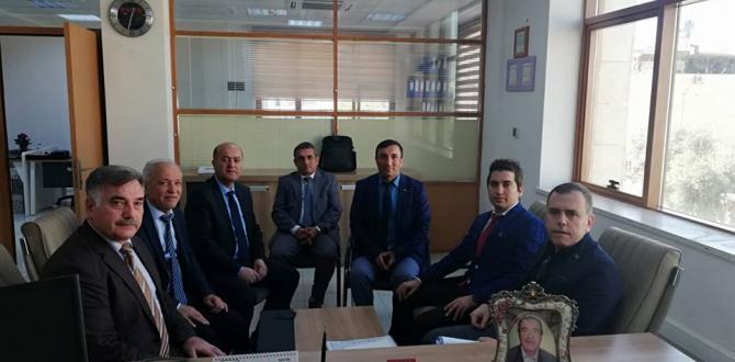 Genel Başkanımız Ali KART, Genel Müdür Yardımcısı Gazi Levent KURTOĞLU Görüşme Gerçekleştirdi