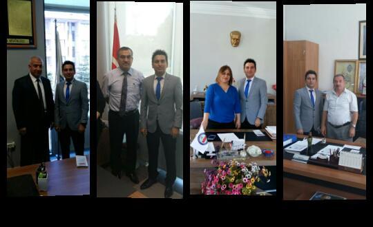 e-Nüfus Sen Heyeti Konya'da Temaslarda Bulundu